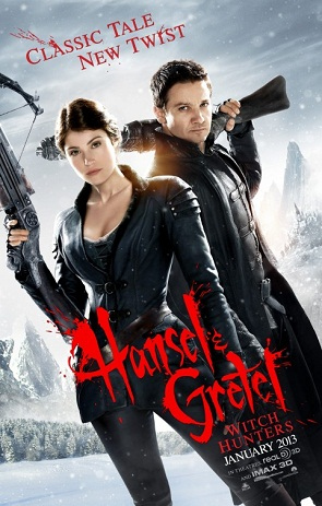 Hansel and Gretel Withc Hunters Movie Poster